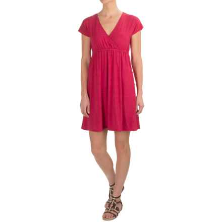Carve Designs Coco Dress - Rayon, Short Sleeve (For Women) in Starberry - Closeouts
