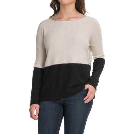 Carve Designs Color-Block Sweater (For Women) in Mountain - Closeouts