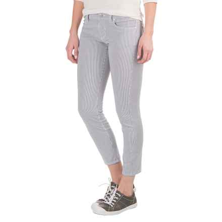 Carve Designs Costa Crop Pants (For Women) in Anchor Stripe - Closeouts