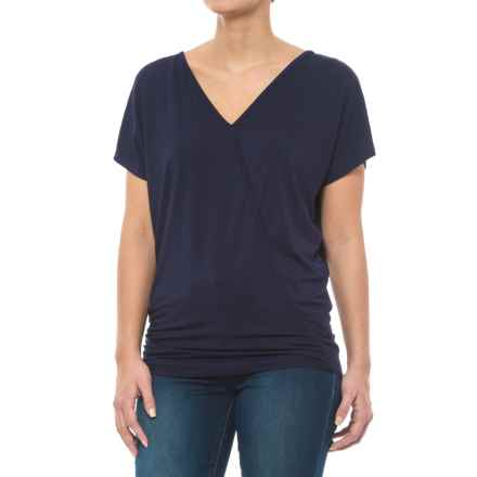 Carve Designs Cypress Dolman Shirt - Micromodal®, Short Sleeve (For Women) in Anchor - Closeouts