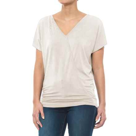 Carve Designs Cypress Dolman Shirt - Micromodal®, Short Sleeve (For Women) in White - Closeouts