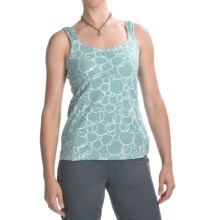 Carve Designs Dellis Empire Waist Tank Top - Stretch Cotton (For Women) in Seafoam - Closeouts