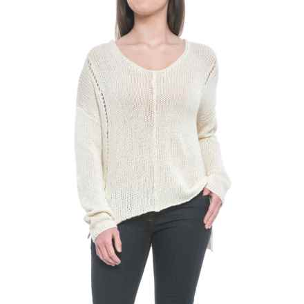 Carve Designs Destin Sweater (For Women) in Ivory - Closeouts