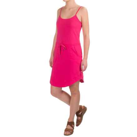Carve Designs Ella Dress - Organic Cotton, Sleeveless (For Women) in Strawberry - Closeouts