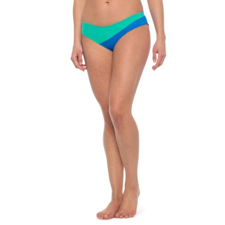 6fab973c90c96 Carve Designs Fisher Bikini Bottom - UPF 50 (For Women) in Electric Blue