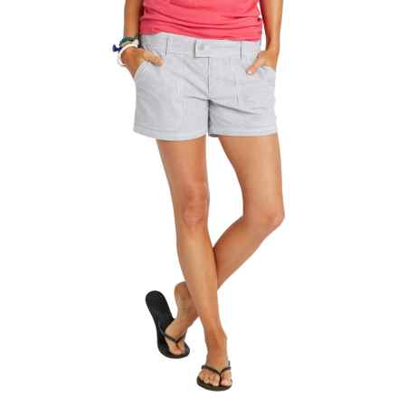 Carve Designs Flatiron Shorts (For Women) in Anchor Stripe - Closeouts