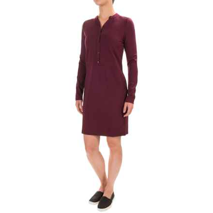 Carve Designs Frisco Dress - Long Sleeve (For Women) in Mulberry - Closeouts