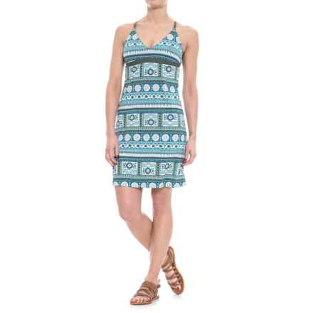 Carve Designs Gansett Dress - UPF 50, Sleeveless (For Women) in Reed Parisio/Reed - Closeouts