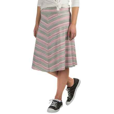 Carve Designs Hamilton Skirt (For Women) in Wave Stripe - Closeouts