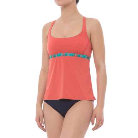 Carve Designs Hana Tankini Top - Built-In Bra, UPF 50 (For Women) in St. Croix/Sunkiss - Closeouts