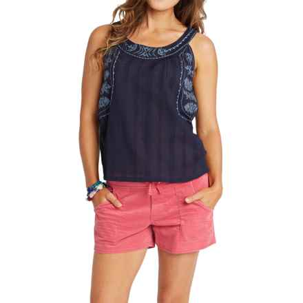 Carve Designs Harbour Tank Top (For Women) in Anchor - Closeouts