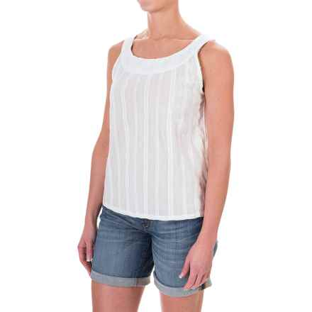 Carve Designs Harbour Tank Top (For Women) in White Sand - Closeouts