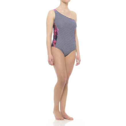 Carve Designs Holden One-Piece Swimsuit - UPF 50 (For Women) in Anchor Stripe - Closeouts