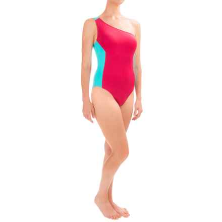 Carve Designs Holden One-Piece Swimsuit - UPF 50 (For Women) in Strawberry/Turquoise - Closeouts