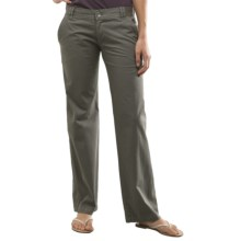 Carve Designs Hollis Chino Pants (For Women) in Gunmetal - Closeouts