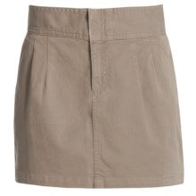 Carve Designs Hollis Skirt - Chino Twill (For Women) in Brindle - Closeouts