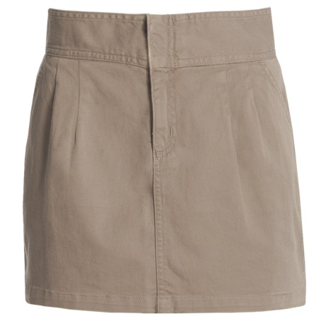 Carve Designs Hollis Skirt - Chino Twill (For Women) in Brindle