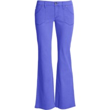 Carve Designs Hudson Pants - Cotton, Low Rise (For Women) in Blurple - Closeouts