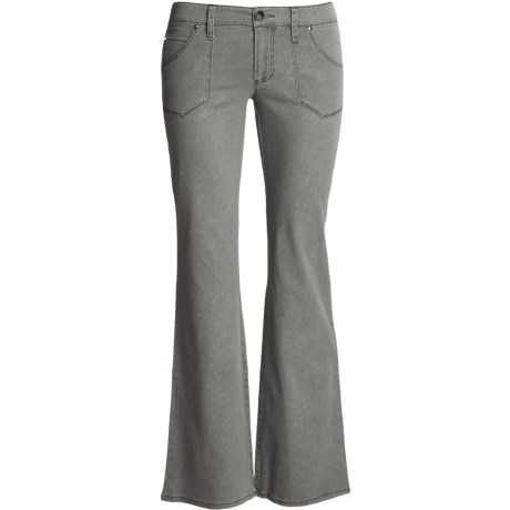 Carve Designs Hudson Pants - Cotton, Low Rise (For Women) in Blurple