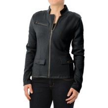 Carve Designs Indah Moto Jacket (For Women) in Black - Closeouts