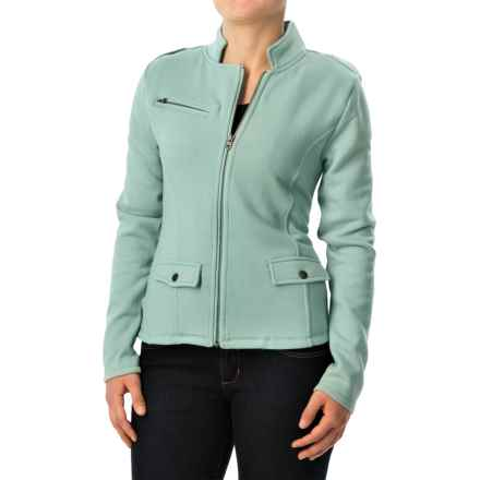 Carve Designs Indah Moto Jacket (For Women) in Cactus - Closeouts