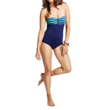 Carve Designs Isla One-Piece Swimsuit - UPF 50+ (For Women) in Monaco/Anchor - Closeouts