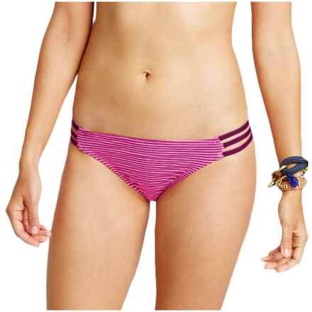 Carve Designs Island Bikini Bottoms - UPF 50 (For Women) in Hibiscus Tides - Closeouts