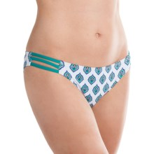 Carve Designs Island Bikini Bottoms - UPF 50 (For Women) in Riviera - Closeouts