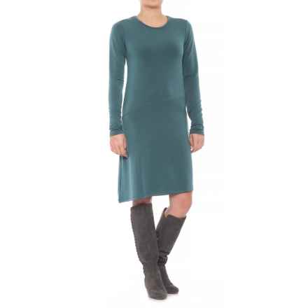 Carve Designs Jones Dress - Long Sleeve (For Women) in Teal - Closeouts