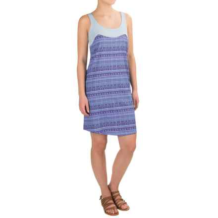 Carve Designs Kaitlin Dress - Sleeveless (For Women) in Anchor Brazil/Canal - Closeouts