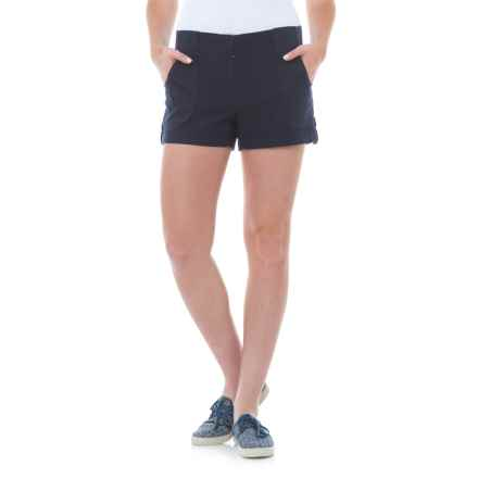 Carve Designs Lanakai Shorts - Linen-Rayon (For Women) in Anchor - Closeouts