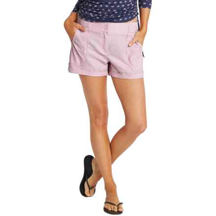 Carve Designs Lanakai Shorts - Linen-Rayon (For Women) in Lavender - Closeouts