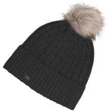 Carve Designs Laurel Beanie (For Women) in Black - Closeouts