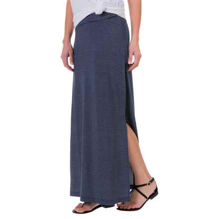 Carve Designs Mahalo Skirt - Organic Cotton-TENCEL® (For Women) in Anchor Chevron - Closeouts