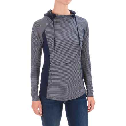 Carve Designs Mariposa Hoodie (For Women) in Anchor Southwest Stripe - Closeouts