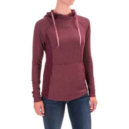 Carve Designs Mariposa Hoodie (For Women) in Mulberry Southwest Stripe - Closeouts