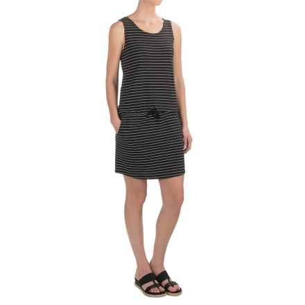 Carve Designs Meadow Dress - Organic Cotton-Rayon, Sleeveless (For Women) in Black Stripe - Closeouts