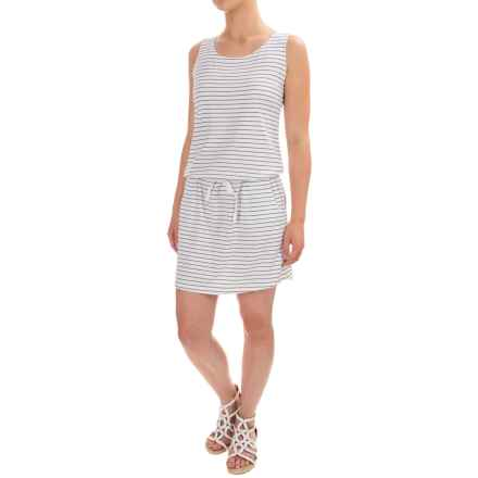 Carve Designs Meadow Dress - Organic Cotton-Rayon, Sleeveless (For Women) in Regatta Stripe - Closeouts