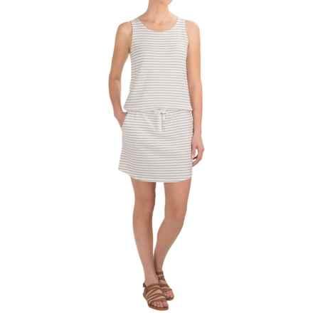 Carve Designs Meadow Dress - Organic Cotton, Sleeveless (For Women) in Regatta Stripe - Closeouts
