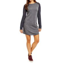 Carve Designs Mesa Knit Dress - Merino Wool, Long Sleeve (For Women) in Charcoal - Closeouts