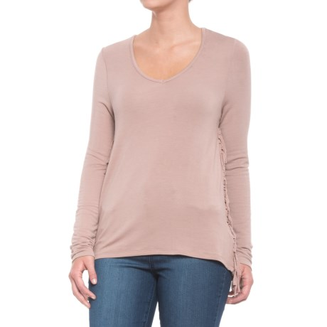 Carve Designs Mesa Shirt - Modal, Long Sleeve (For Women) in Dust
