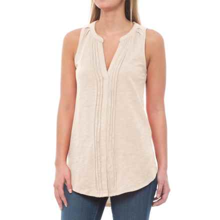 Carve Designs Middleton Tunic Shirt - Organic Cotton, Sleeveless (For Women) in Ivory - Closeouts