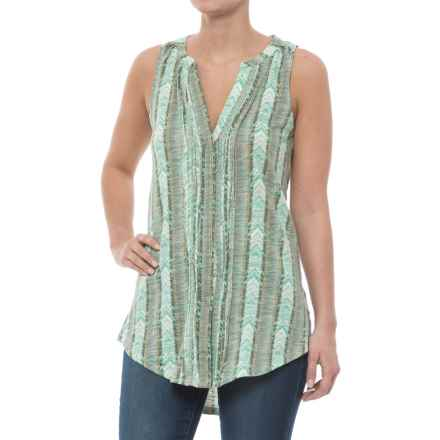 Carve Designs Middleton Tunic Shirt - Organic Cotton, Sleeveless (For Women) in Navajo - Closeouts