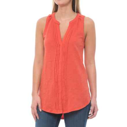 Carve Designs Middleton Tunic Shirt - Organic Cotton, Sleeveless (For Women) in Sunkiss - Closeouts