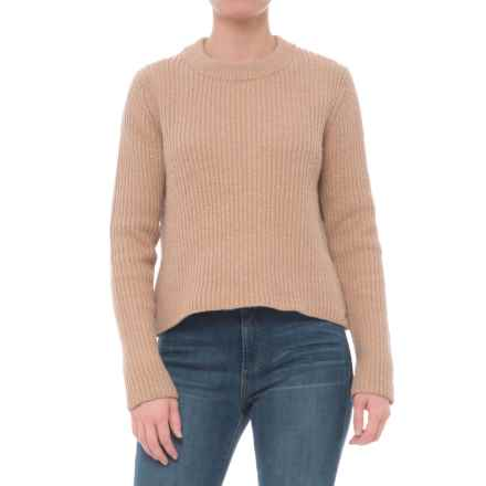 Carve Designs Montague Crop Sweater (For Women) in Camel/Gold - Closeouts