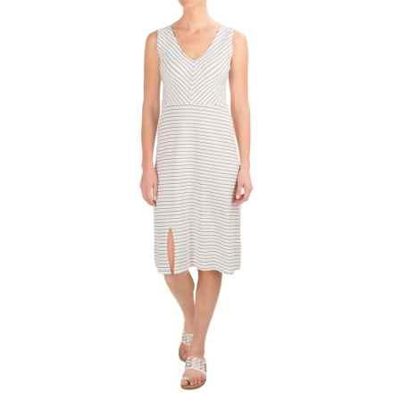 Carve Designs Montauk Dress - Organic Cotton, Sleeveless (For Women) in Regatta Stripe - Closeouts
