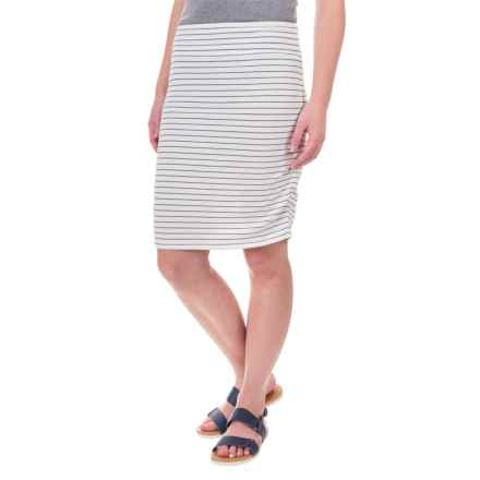 Carve Designs Montauk Skirt - Organic Cotton-Rayon (For Women) in Regatta Stripe - Closeouts