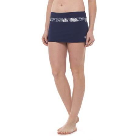 Carve Designs Mykanos Mini Skirt - UPF 50 (For Women) in Anchor/Anchor Kauai