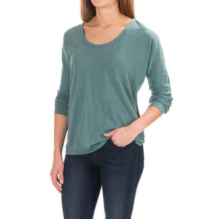 Carve Designs Newport Shirt - Organic Cotton, Long Sleeve (For Women) in Spruce - Closeouts