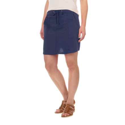 Carve Designs Newport Skirt - Organic Cotton (For Women) in Anchor - Closeouts